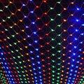 Decoração do Ano novo Garland LED das Luzes de Natal Ao Ar Livre 4x6 m 220 V Luzes LED Net Luz Luces Cristmas De Navidad Pará Exterior
