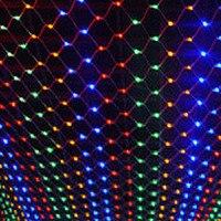 Oferta Guirnalda De Luces LED navideñas Para Exterior decoración De Año Nuevo 4x6m 220V Luces LED De