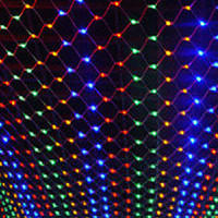 Oferta Guirnalda decorativa De Año Nuevo Luces LED navideñas Para exteriores 4x6m 220 V Luces navideñas Luces