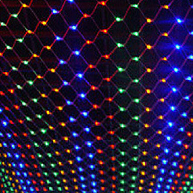 New Year Decoration Garland LED Christmas Lights Outdoor 4x6m 220V Cristmas Lights LED Net Light Luces De Navidad Para Exterior