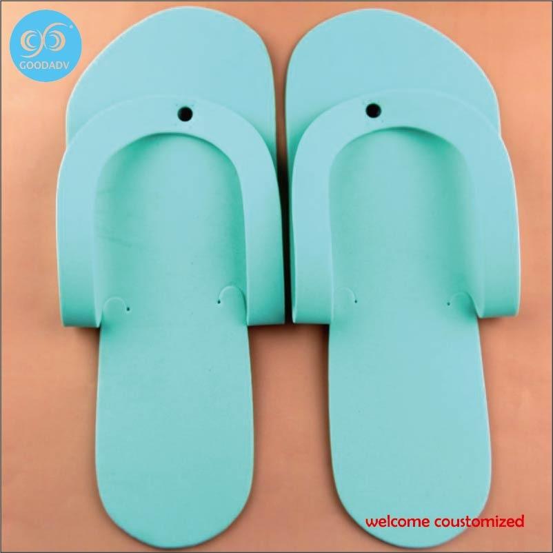 60db1af5fb71 Sandal murah Menyesuaikan hotel sandal hotel Pakai eva sandal jepit merek  logo anda menyambut kustom di Sandal dari Sepatu AliExpress.com