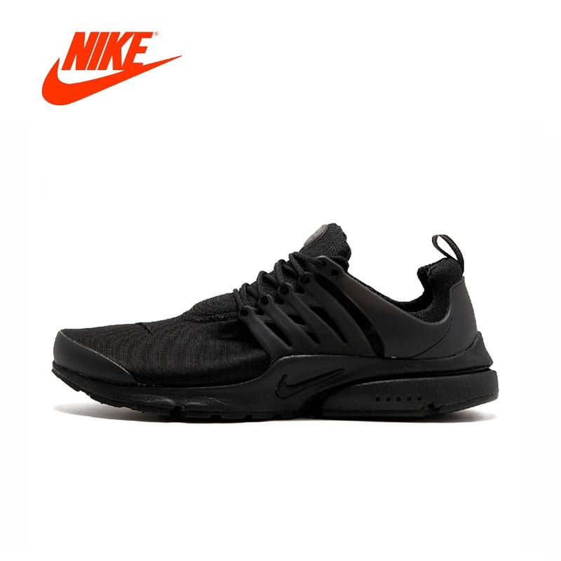Official Original Nike Air Presto Blackout Black Knight Retro Men's Running  Shoes Comfortable Sport Sneakers 305919