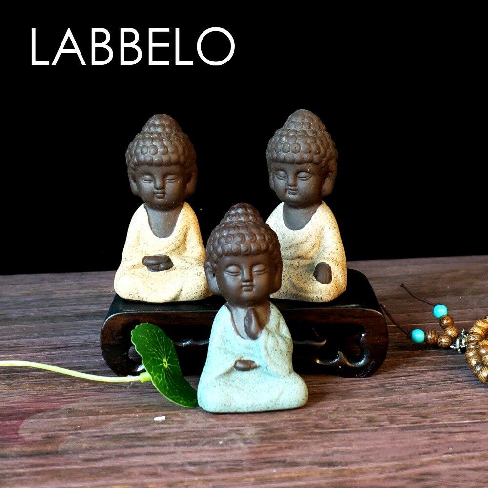 labbelo κεραμικά Βούδα άγαλμα μοναχός - Διακόσμηση σπιτιού - Φωτογραφία 6