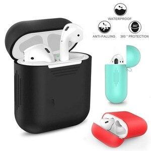 Image 3 - Caixas para fones de ouvido, estojo para fones de ouvido airpods da apple fone de ouvido tomada de poeira