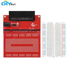 DIYmall AMS1117 Chip Prototype Extension Board V2 with Breadboard eco-friendly for microbit micro:bit micro bit for Keyes keyes kt0053 breadboard ceramic capacitors resistors more for arduino multicolored