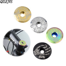 QILEJVS 1 Set Bicycle Bowl Cover For 28.6mm Front Fork Handle Top Mountain Road Bike Modification Supplies