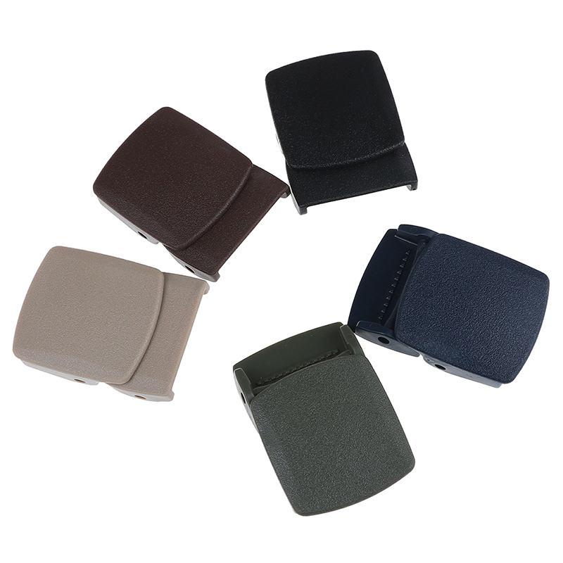 1PCS 32mm Plastic Belt Buckle For Men's Belt Canvas Belt DIY Accessories Cosplay Military Adjustable Tied Nylon Webbing