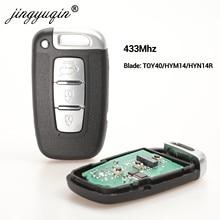 Jingyuqin 433Mhz Smart Key für HYUNDAI I30 I45 Ix35 Genesis Equus Veloster Tucson Sonata Elantra SY5HMFNA04 Für kia