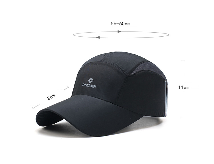 AETRENDS  Men Hat Summer Baseball Cap Mesh Thin Blue Line 5 Panel Hat Team  Liquid Sports Caps Casquette Homme Marque Z 5114-in Baseball Caps from  Apparel ... 741b6299b155