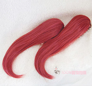 Image 3 - Kurosawa Ruby Cosplay Wig Love Live! Sunshine!! Heat Resistant Synthetic Hair Clip Ponytails Cosplay Costume Wigs + Wig Cap