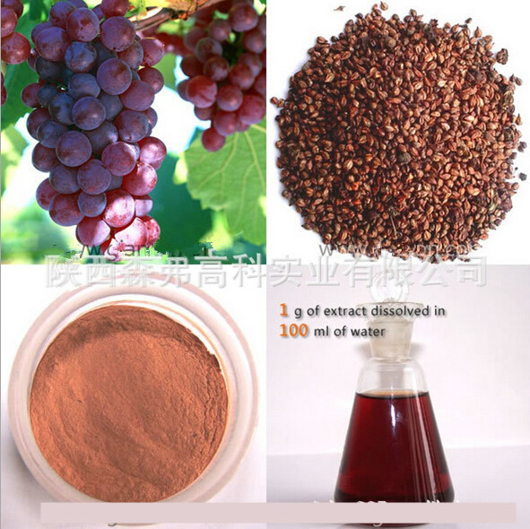 1KG Red Grape Seed Extract For Holy Communion Free Shipping high quality pure natural grape seed extract for antiaging 100g
