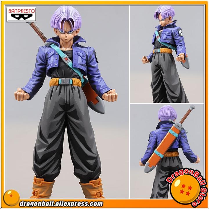 Japan Anime Dragon Ball Z Original Banpresto Master Stars Piece (MSP) Overseas Limited Edition Collection Figure - The Trunks japan anime one piece original banpresto glitter