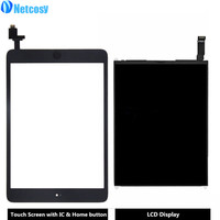 Netcosy For Ipad Mini 1 A1432 A1454 A1455 Touch Screen Digitizer Panel LCD Display Screen Repair