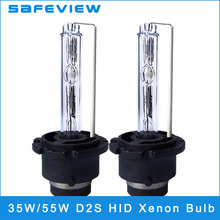 SAFEVIEW D2S 35W Xenon HID Lamp 55W 12V REPLACE Car Headlight Bulbs For All Cars 4300K 5000k 6000K 8000K 10000K car-styling