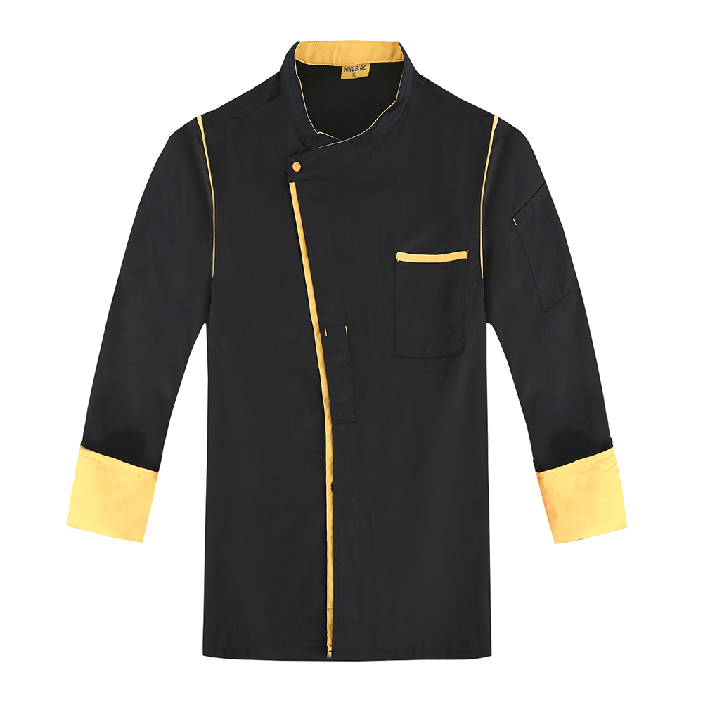 High-quality Full Sleeve Autumn&Winter Kitchen Chef Jacket Uniforms Cook Clothes Restaurant Food Services Frock Coats