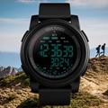 Мужские Цифровые часы SKMEI  спортивные водонепроницаемые часы с шагомером и счетным отсчетом  военный браслет с будильником