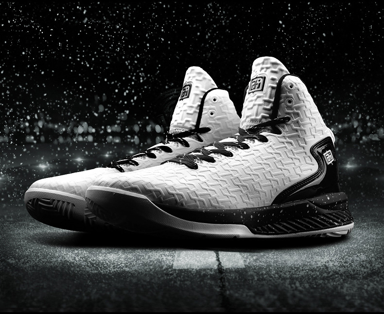 Men's Basketball Shoes High Top White PU Basketball Boots Indoor Outdoor AI Athletic Basketball Brand Sport Shoes Sneakers 45 peak sport men outdoor bas basketball shoes medium cut breathable comfortable revolve tech sneakers athletic training boots
