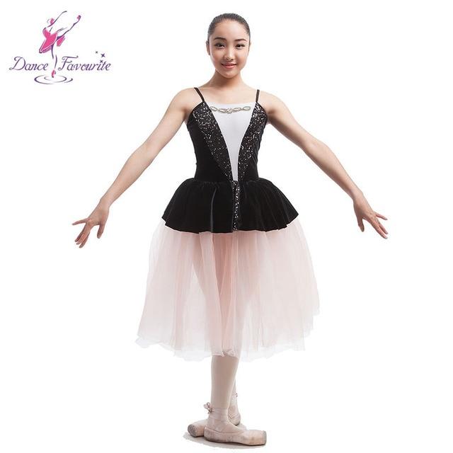 Black velvet bodice women romantic ballet costume tutu lady dance costume  stage ballet tutu girl stage ballet tutu c18adaab4fdb