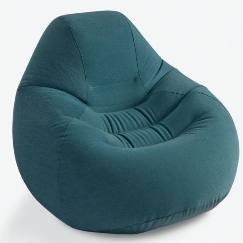 INTEX 68583 Single Person 122 127 81CM High Grade Air Bed Back Sofa Lazy Sofa Inflatable