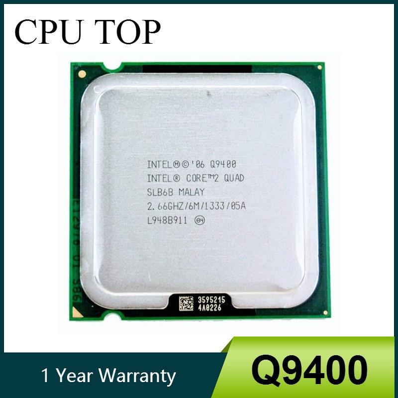 Процессор Core 2 Quad Q9400 SLB6B 2,66 GHz 6MB 1333MHz Socket 775 процессор 100% рабочий core 2 quad 2 quadcore 2 quad q9400   АлиЭкспресс
