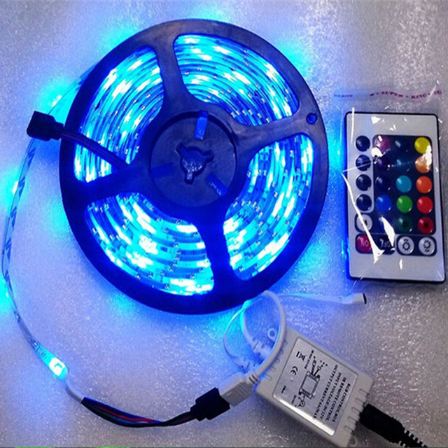Christmas 5mroll 300 leds 12V waterproof led strip light RGB