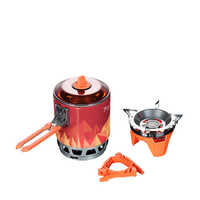 Fire Maple Cooking System Outdoor Camping Hiking Travel Equipment Oven Portable Best Propane Gas Stove Set FMS-X3 0.8L Pot