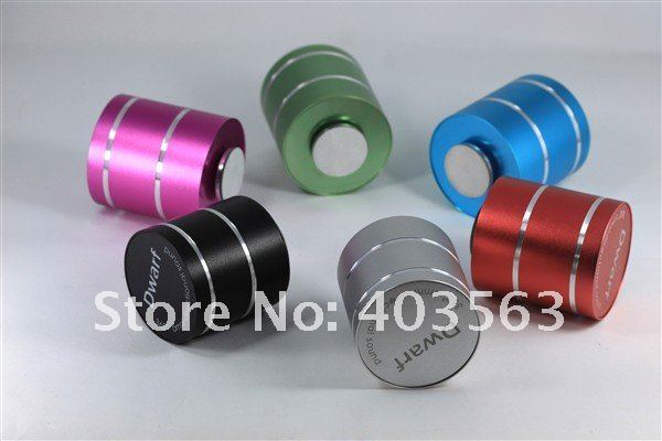 40.New arrival vibration speaker D2,Dwarf 360 Omni-Directional Vibration Resonance, 3W+Battery+support TF+Free Shipping +low