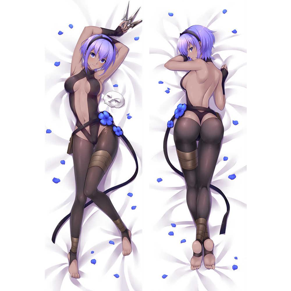 Anime JK Số Phận Nguyên Mẫu Hassan-i-Sabba Dakimakura Cơ Thể Gối Bìa Trường Hợp FGO Phim Hoạt Hình Cô Gái Sexy Ôm Ôm gối