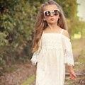 2017 лето девочка платье девушки одежда печати девушка кружевном платье детская одежда детей платье принцессы платье для девочки