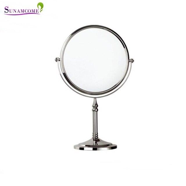 Miroir face face zoom single face makeup mirror folding table colorful square desktop dresser - Miroir trois faces salle de bain ...