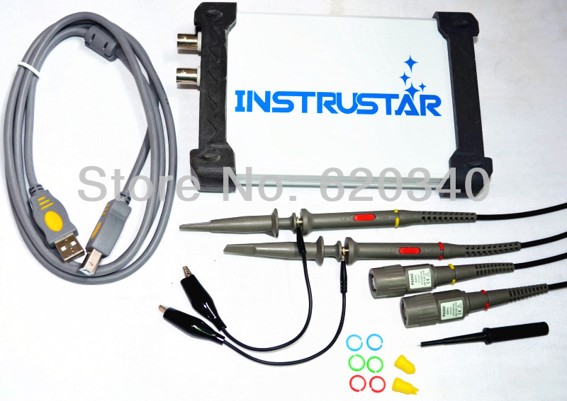 MDSO ISDS205A 3 IN 1 Multifunctional 20M Virtual Digital Oscilloscope+Spectrum Analyzer+Data Recorder PC USB Oscilloscope