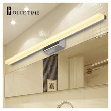 40 см 60 см 80 см 100 см 120 см современный стиль зеркало света настенный жк-зеркало в ванной стены свет лампы