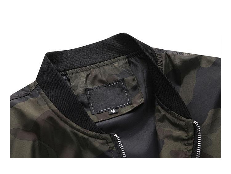 HTB17Bm.c56guuRkSmLyq6AulFXaH M-7XL 2019 New Autumn Men's Camouflage Jackets Male Coats Camo Bomber Jacket Mens Brand Clothing Outwear Plus Size M-7XL
