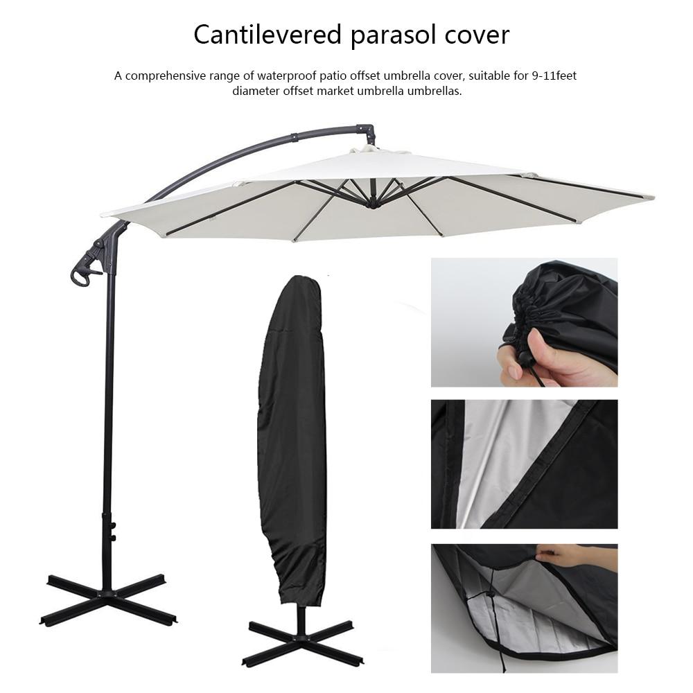 Weatherproof Patio Cantilever Parasol