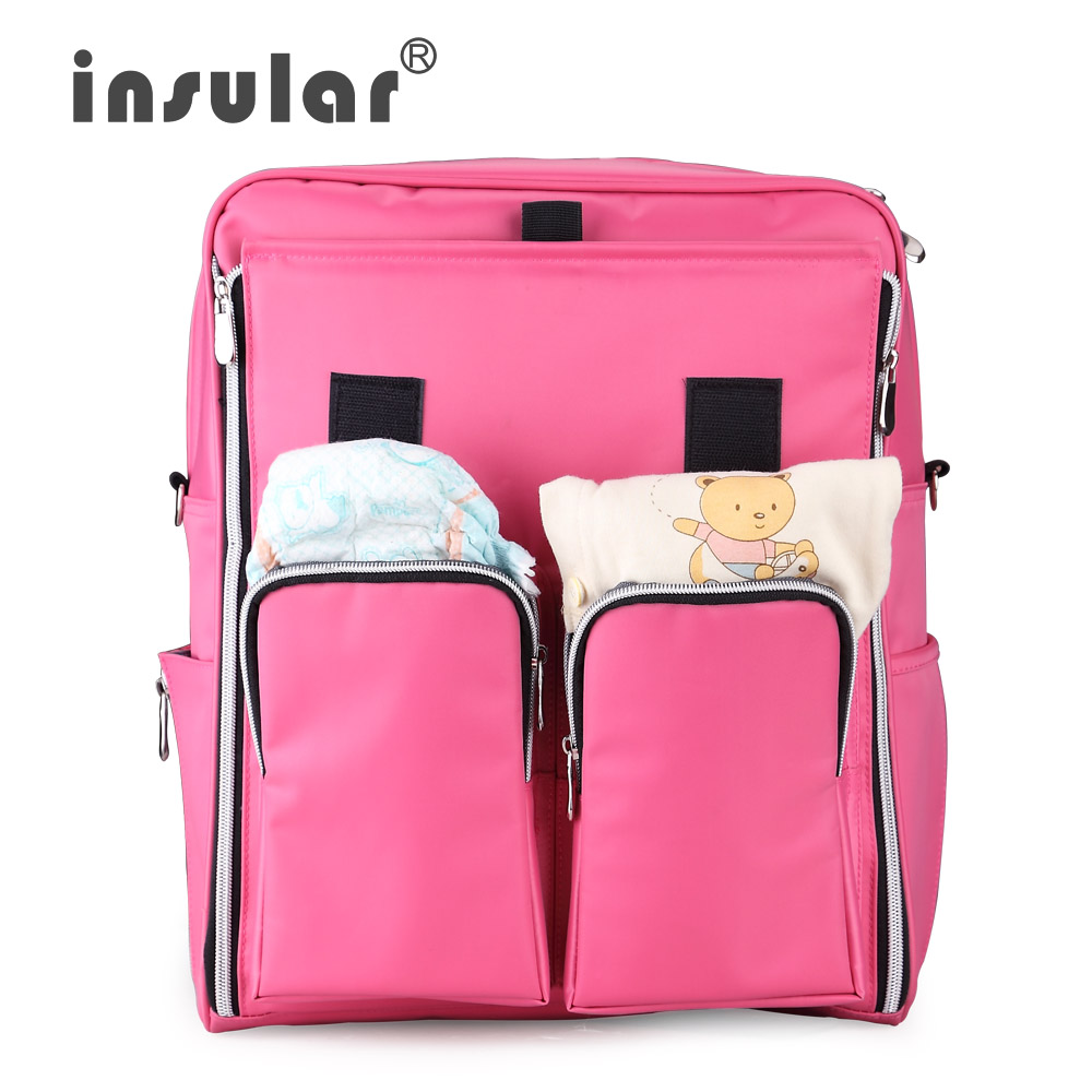 Good Quality High Capacity Waterproof Mummy Diaper Bag Organizer Baby Bag Mum Maternity Nappy Bags Baby Travel Bag Backpack