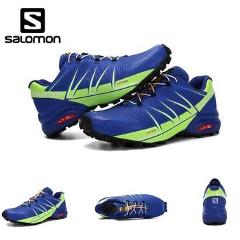 Salomon Speed Cross 5 Speedcross Pro  training running Sneakers for men  Outdoor cool light Shoes Run breathable Eur 40-46 cross training shoe