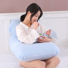 Cotton U-Shaped Pillow for Sleep