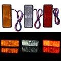 12 V Car-Styling Universal LED Reflector Trasero Cola del Freno de Parada Luz de Marcador Para Jeep SUV Camión Remolque de Motos Los Coches eléctricos