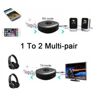Image 3 - APTX HD Bluetooth 5.0 משדר מקלט CSR8675 אלחוטי אודיו מתאם 3.5mm Lossless נמוך עיכוב עבור PC טלוויזיה אוזניות D2 001