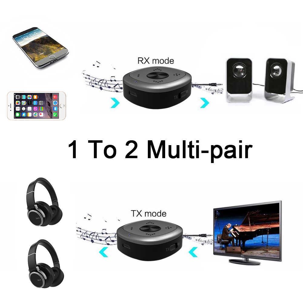 APTX HD Bluetooth 5,0 приемник передатчика CSR8675 беспроводной аудио адаптер 3,5 мм без потерь низкая задержка для ПК телевизионные наушники D2-001