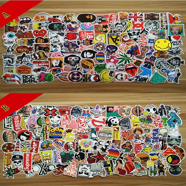 100 non repetition car stickers personalise graffiti car covers