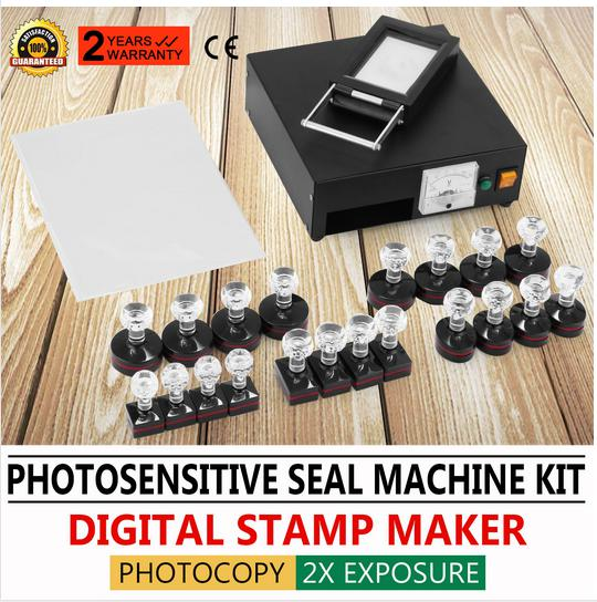 Photosensitive Portrait Flash Stamp Machine Kit Self Inking Stamping Making In Tool Parts From Tools On Aliexpress