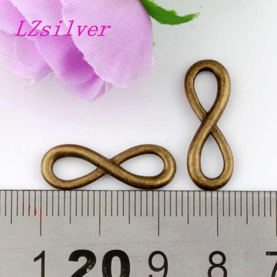 30pcs antique bronze style zinc alloy look infinity symbol charms 30pcs antique bronze style zinc alloy look infinity symbol charms pendants 23x8mm af2629 in pendants from jewelry accessories on aliexpress alibaba buycottarizona Gallery