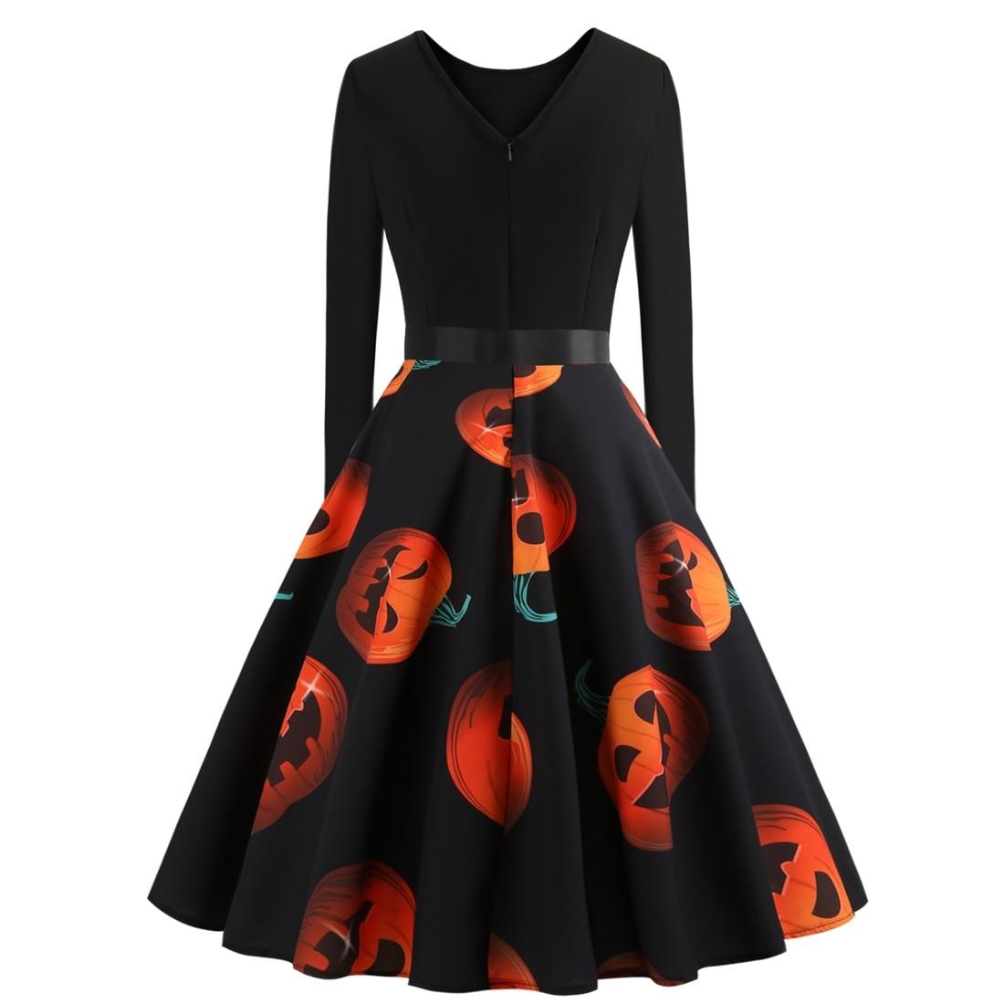 women dress new fall halloween festivals classics comfort elegance 2019 fashion ladies female womens clothing dresses lady in Dresses from Women 39 s Clothing
