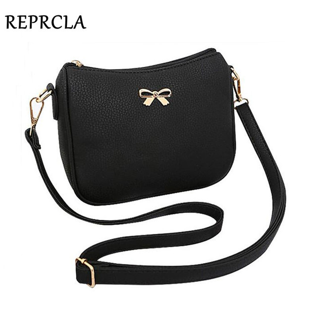 095bfdaa25 High Quality PU Leather Small Women Bags Bowknot Designer Women Messenger  Bags Handbags Ladies Flap Shoulder Crossbody Bags