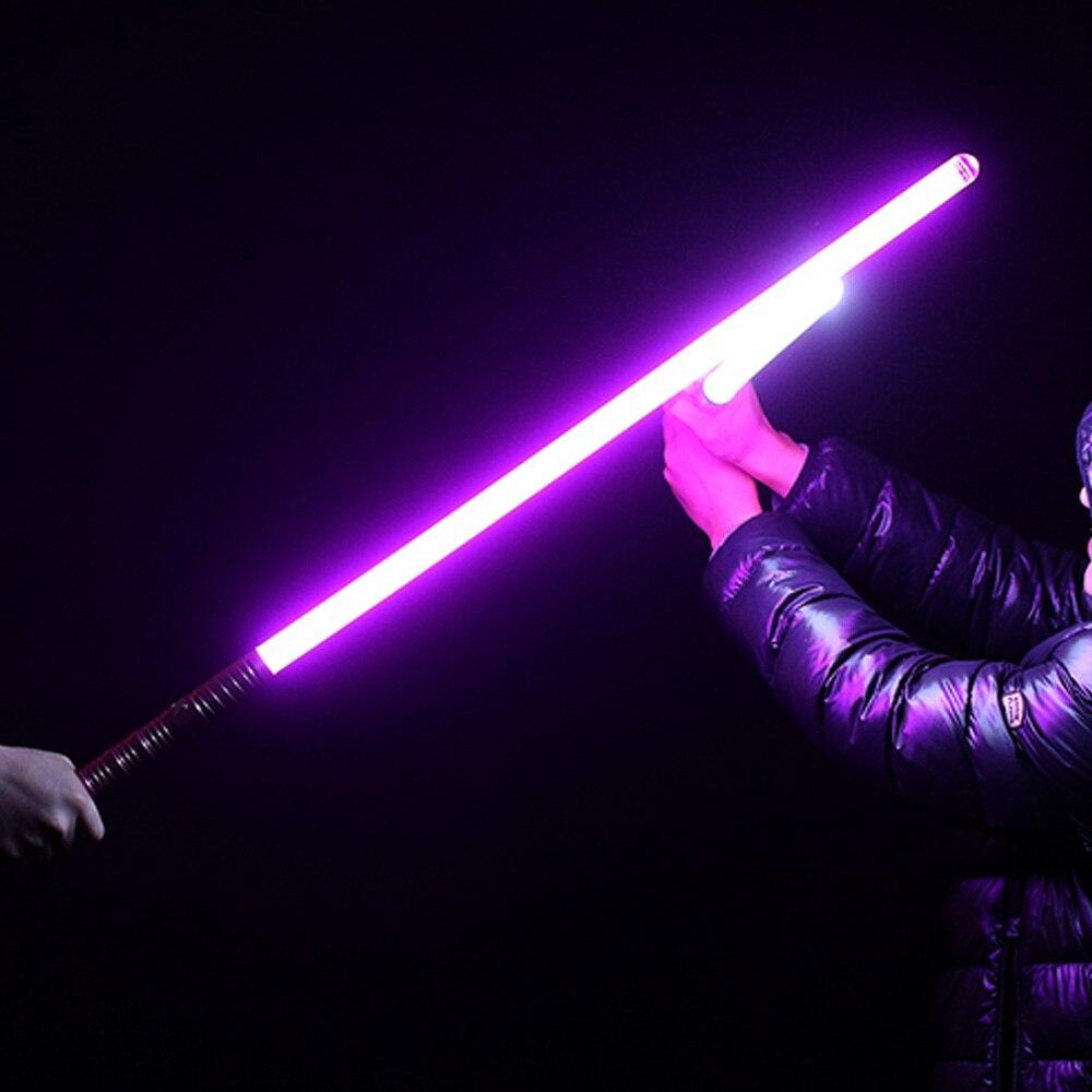 2018 nuevo unids 16 tipos 1 pieza de sonido Luke Lightsaber negro serie 60 100 cm de longitud Vader espada luz Saber regalo de cumpleaños para niños - 4