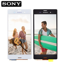 ORIGINAL 5 2 For SONY Xperia Z3 Display Touch Screen Digitizer For SONY Xperia Z3 LCD