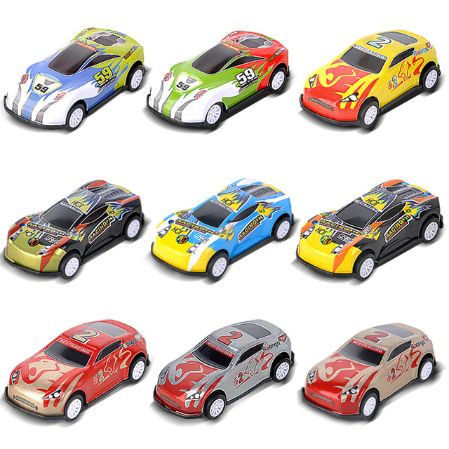 Finger Rock 1/87 Scale Racing Alloy Car Model Simulation Diecast Vehicle Toys Pull Back Collection Oyuncak Toy Cars For Kids