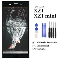 TIMEWAY For Sony Xperia XZ1 G8341 G8342 XZ1 Compact XZ1 Mini G8441 G8442 LCD Display With Frame Touch Screen AAA display