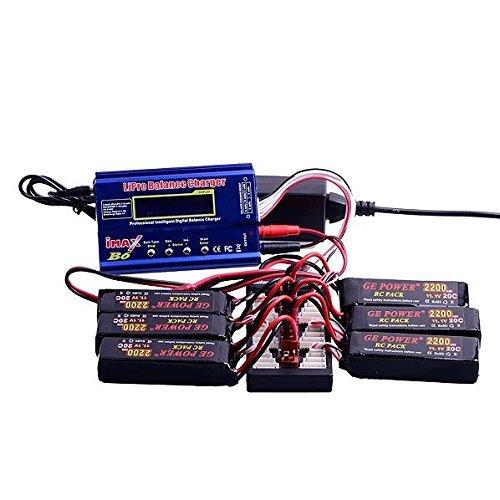 2S-6S Lipo Parallel Charging Board T Plug XT60